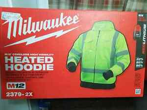 Milwaukee heated hoodie high visibility Cambridge Kitchener Area image 1