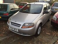 Daewoo Kalos 55,000 miles service history, 1.2 5 door cam belt service full mot warranty all inc