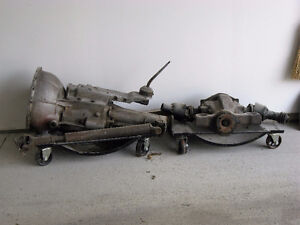 Drive Train TR4 TR 250 TR6, trans, drive shaft and rear end
