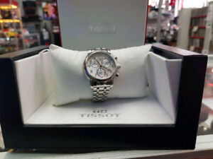 MONTRE TISSOT SILVER MOTHER OF PEARLS