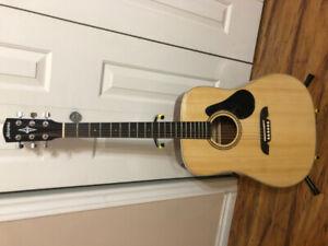 Acoustic Guitar by Alvarez Model RD26 New Full Size