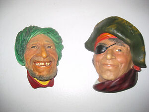 Bosson Heads, Vintage Antique, $5 ea. Kitchener / Waterloo Kitchener Area image 1