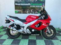 1997 Yamaha YZF Thundercat Sports Petrol Manual