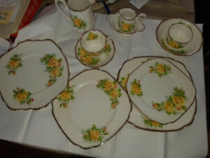 Royal Albert bone China, tea rose