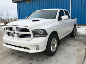 2013 Ram 1500 SPORT CREWCAB w/ hard to find AIR RIDE!!!