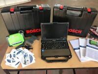 BOSCH KTS950 AND DCU220 DIAGNOSTIC EQUIPMENT