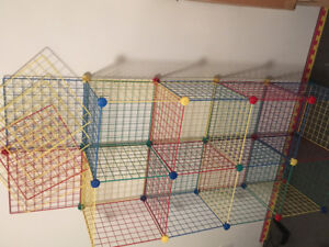 Wire Cube Shelving