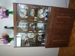 China Cabinet -  full size  -47x67x16
