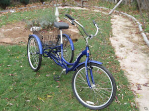 3 wheel schwinn adult bike