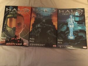 Halo Fall of Reach Graphic Novels Stratford Kitchener Area image 1