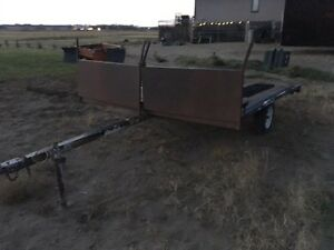 2 place sled trailer