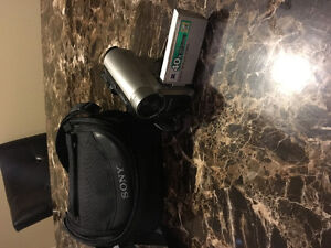 Touchscreen Sony camcorder