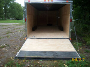 2017 CAR HAULER 8.5x 24' C/W 3500 AXLES LOTS OF N/C EXTRAS Oakville / Halton Region Toronto (GTA) image 4