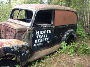 1940 FORD 1/2 TON PANEL TRUCK - $$$??? TRADE OFFER