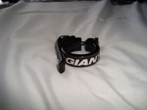 GIANT BIKE SEATPOST QUICK RELEASE CLAMP COLLAR USED.