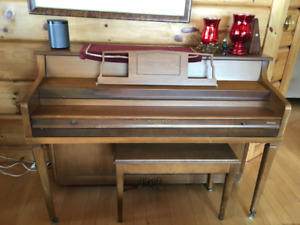 Piano - Free!  Fairly lightweight and easy to move!