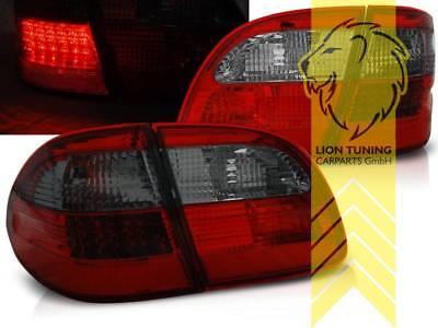 LED Rückleuchten Heckleuchten für Mercedes Benz S211 T-Modell E-Klasse rot smoke