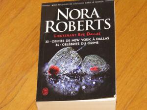 NORA ROBERTS -EVE DALLAS -CRIMES NEW-YORK-CÉLÉBRITÉ DU CRIME