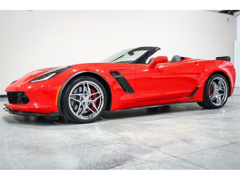 2016 Red Chevrolet Corvette Z06 2LZ | C7 Corvette Photo 9