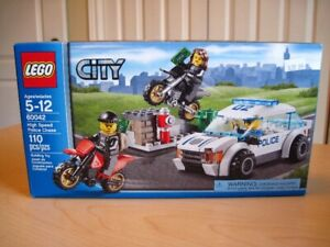 Lego 60042 City High Speed Police chase , Neuf et scellée