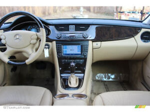 2006-2011 Mercedes-Benz CLS W219 Dashboard and interior parts