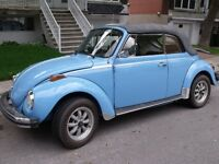 Super beetle convertible 1976-aubaine