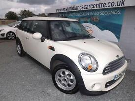 2013 62 MINI CLUBMAN 1.6 COOPER 5D 122 BHP PETROL CREAM ESTATE
