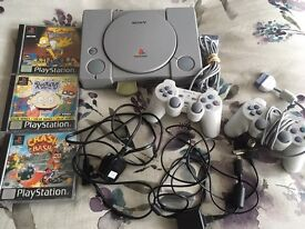 PlayStation One Console & Games