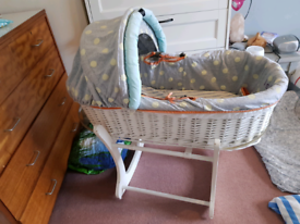 FREE Baby K Moses basket by Myleen Klass