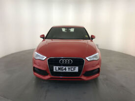 2014 64 AUDI A3 S LINE TDI DIESEL 1 OWNER AUDI SERVICE HISTORY FINANCE PX