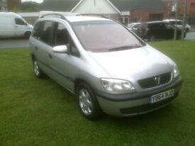 Vauxhall/Opel zafira 1.8 7 seater