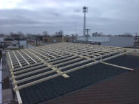 framers and metal roof installers