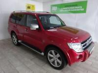 RED MITSUBISHI SHOGUN 3.2 DIAMOND DI-D LWB ***FROM £314 PER MONTH***