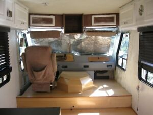 Motor home  turn into mini home