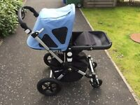 Bugaboo cameleon 3. Comes with spare red fabric set plus parasol