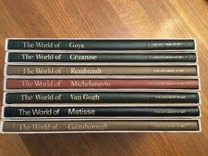 Time Life Library of Art Books - 8 Volumes
