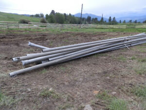 """Irrigation Pipes, 4""""   40 Feet long,"""