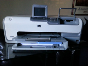 HP Photosmart D7360 Digital Photo Inkjet Printer