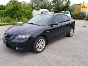 2008.5 mazda 3 - manual transmission -