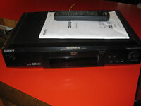 SONY - CD/DVD PLAYER - DVP-S330 - REMOTE - LIVRE INSTRUCTIONS Laval / North Shore Greater Montréal Preview
