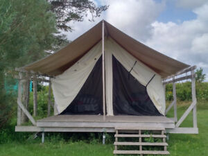 Platform Tent in Excellent Condition - Glamping????