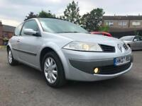 2007 RENAULT MEGANE, 1.6 DYNAMIQUE,3 DOOR COUPE IN SILVER, FULL SERVICE HISTORY
