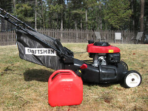 HONDA Engined Lawnmower Self Propelled  ,includes gas can.$398.