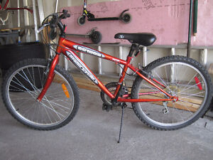"""Supercycle Youth mountain bike bicycle 24"""" wheels Boys Girls"""