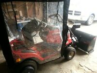 Lawn Tractor plus Snow Thrower plus accessories