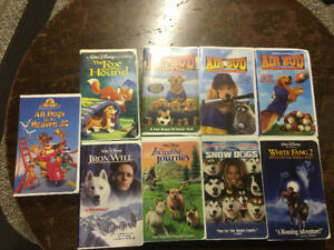 27 Assorted Children VHS movies including Disney movies