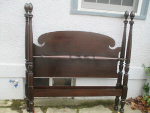 Antique c1920 Tall Poster Bed in Great Condition