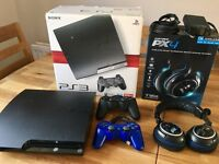 PS3 Console, Turtle Beach PX4 Headset, PS3 & PS4 Controllers, PS3 Games - Bundle or Individual