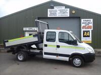 Iveco/ Seddon Daily Double cab tipper **Direct from the council 94k miles**