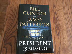 The President is Missing Hardcover